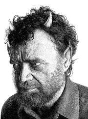 Michael Swanwick portrait by Jason Van Hollander